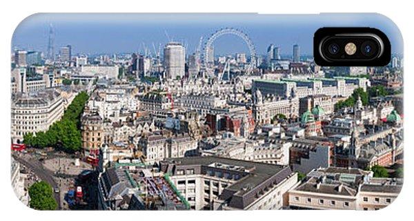 Sumer Panorama Of London IPhone Case