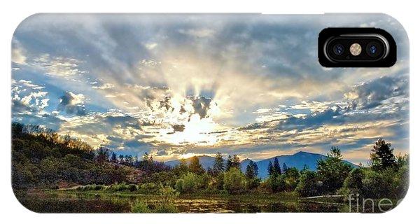 Sumer Solstice Sunrise IPhone Case