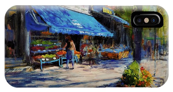 Summer Afternoon, Columbus Avenue IPhone Case