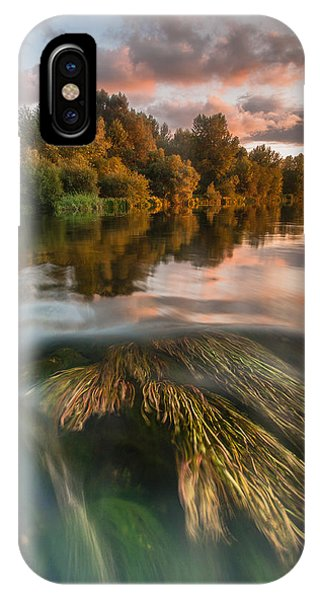 Reflection iPhone Case - Summer Afternoon by Davorin Mance