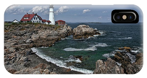 Summer Afternoon, Portland Headlight IPhone Case