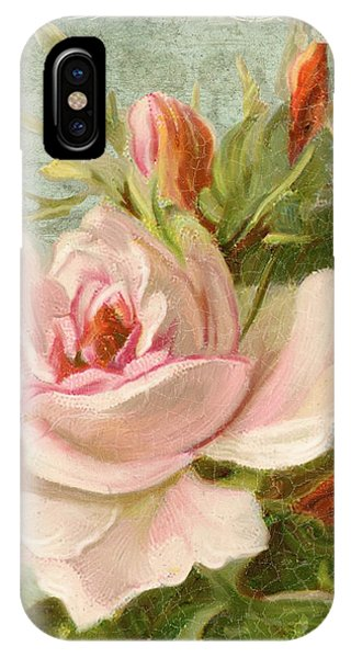 Summer At Cape May - Porch Roses IPhone Case