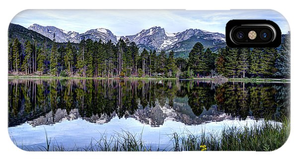 Summer At Sprague Lake  IPhone Case