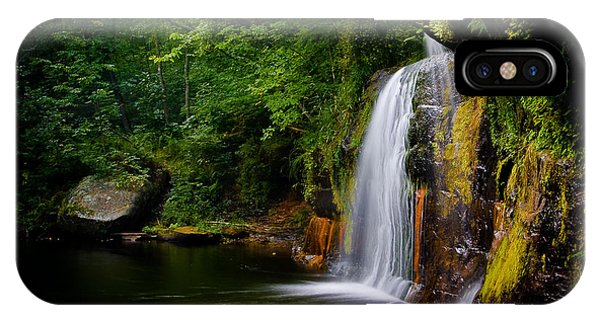Summer At Wolf Creek Falls IPhone Case