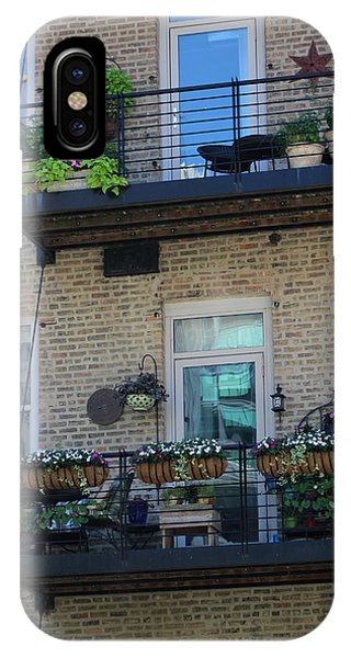 Summer Balconies In Chicago Illinois IPhone Case