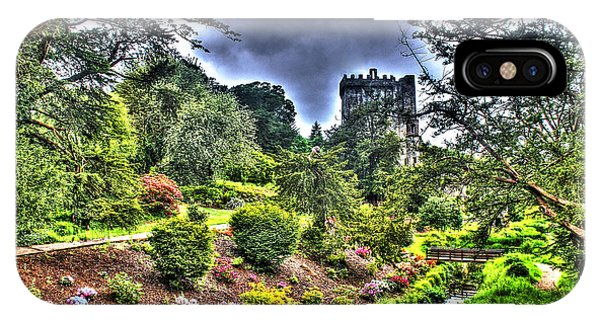 Summer Blarney Garden IPhone Case