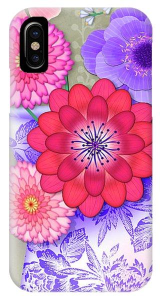 Summer Bouquet IPhone Case