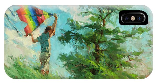 Hobby iPhone Case - Summer Breeze by Steve Henderson