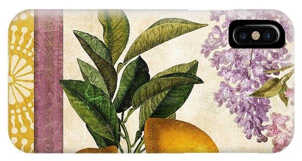 Grapefruit iPhone Case - Summer Citrus Lemon by Mindy Sommers