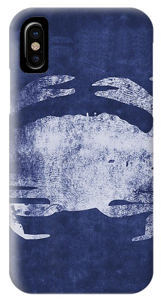 Print iPhone Case - Summer Crab- Art By Linda Woods by Linda Woods