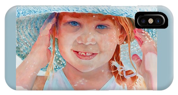 IPhone Case featuring the painting Summer Day by John Neeve