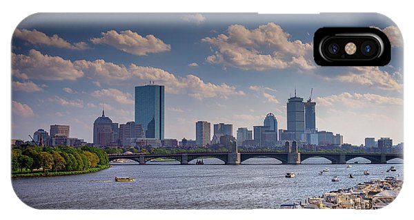 Bean Town iPhone Case - Summer Day On The Charles River by Rick Berk