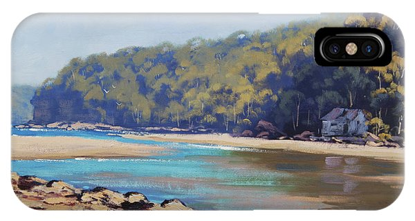 Nature Scene iPhone Case -  Summer Day Patonga Nsw Australia by Graham Gercken