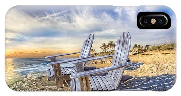 Boynton iPhone Case - Summer Dreaming by Debra and Dave Vanderlaan