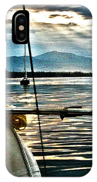 Summer Eve At Sea IPhone Case