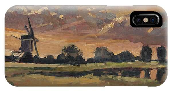 Summer Evening In The Polder IPhone Case