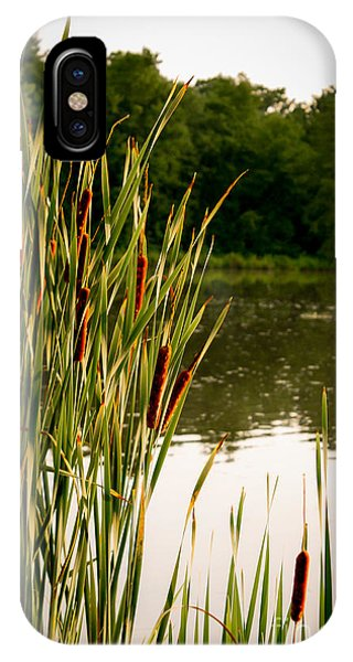 Summer Evening On The Pond Phone Case by Jim Raines