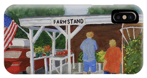 Summer Farm Stand IPhone Case