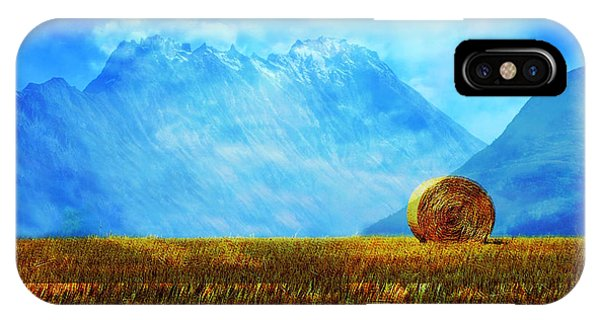 Simple iPhone Case - Summer Field by Enki Art