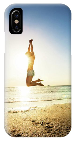 Summer Fitness Girl IPhone Case
