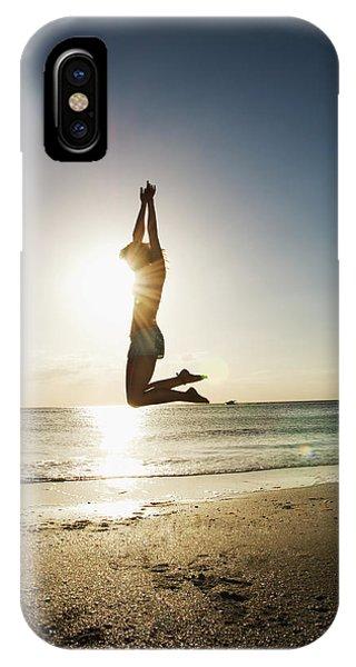 Summer Girl Summer Jump  IPhone Case