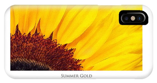 Summer Gold IPhone Case
