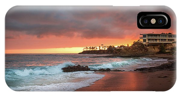Summer Heat Laguna Beach Phone Case by Seascaping Photography