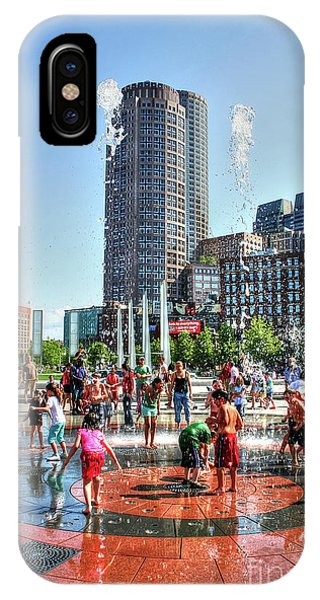 Summer In Boston IPhone Case