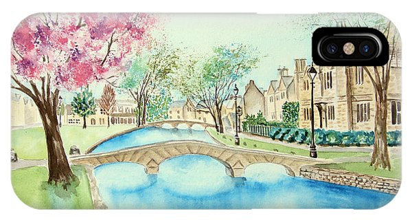Summer In Bourton IPhone Case