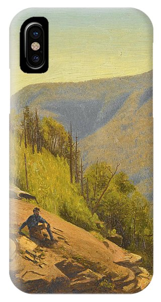 Jervis iPhone Case - Summer In The Hills 2 by Jervis McEntee
