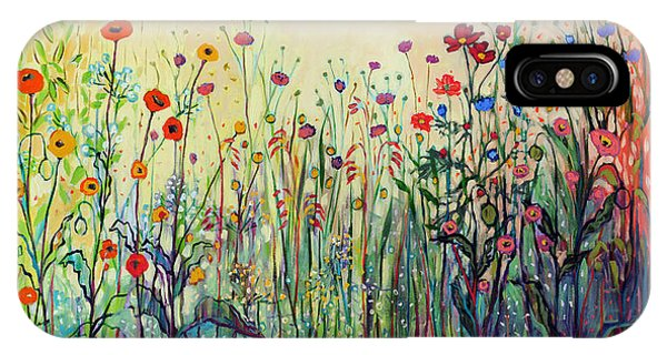 Landscape iPhone Case - Summer Joy by Jennifer Lommers