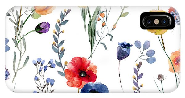 Pattern iPhone Case - Summer Linen by Mindy Sommers