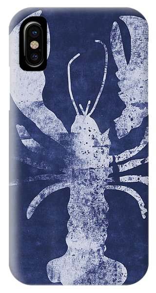 Print iPhone Case - Summer Lobster- Art By Linda Woods by Linda Woods