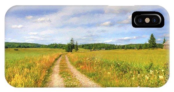 Salo iPhone Case - Summer Meadows by Veikko Suikkanen