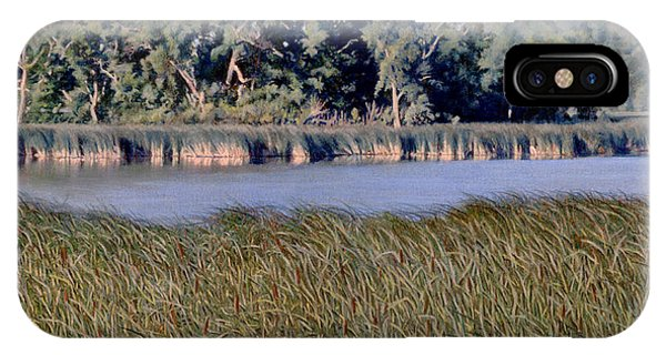 Summer Morning On The Slough IPhone Case