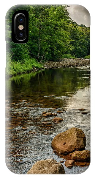 iPhone Case - Summer Morning Williams River by Thomas R Fletcher