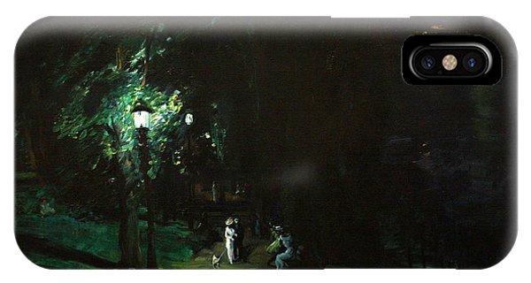 Summer Night Riverside Drive IPhone Case