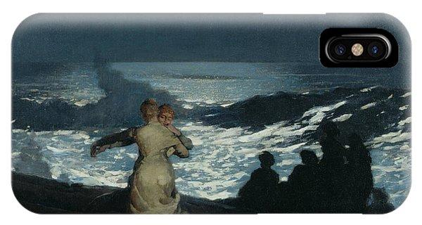 Homer iPhone Case - Summer Night by Winslow Homer