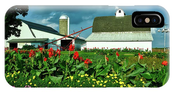 Amish Country iPhone Case - Summer On An Amish Farm by Mountain Dreams