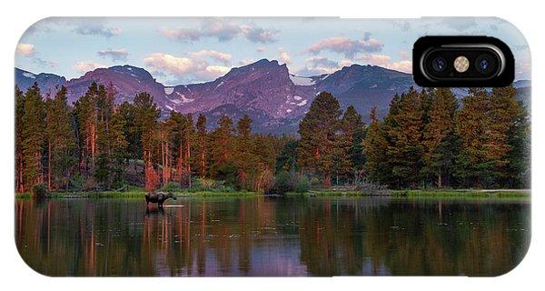 Summer On Sprague Lake IPhone Case