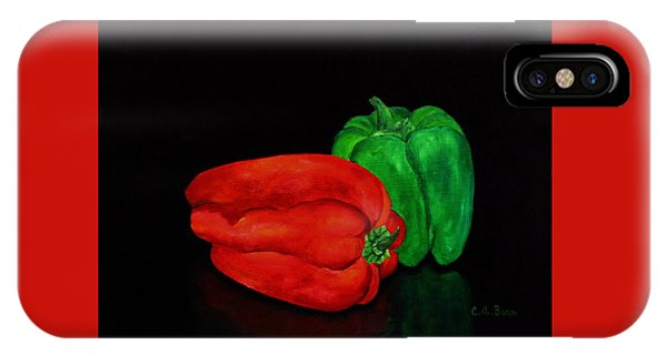 Summer Peppers IPhone Case