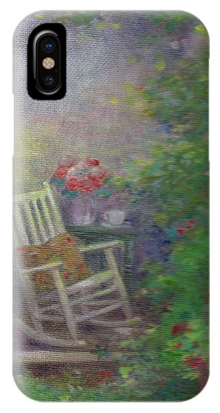 Summer Porch And Rocker IPhone Case