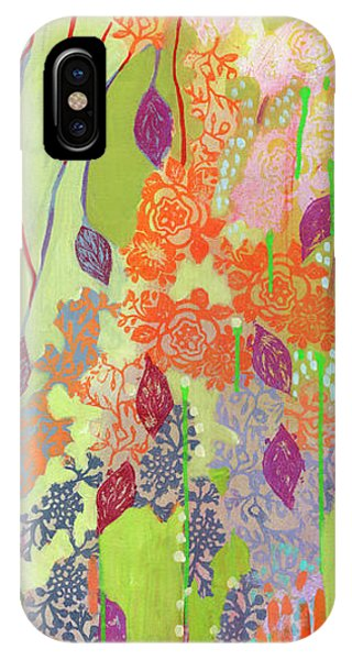 Foliage iPhone Case - Summer Rain Part 1 by Jennifer Lommers