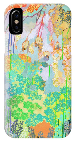 Foliage iPhone Case - Summer Rain Part 2 by Jennifer Lommers