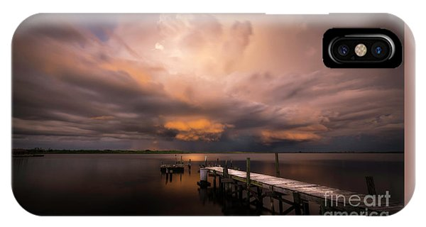 Gloomy iPhone Case - Summer Rains by Marvin Spates