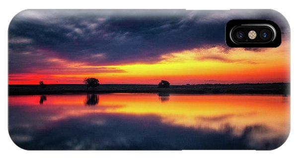 IPhone Case featuring the photograph Summer Rises by John De Bord