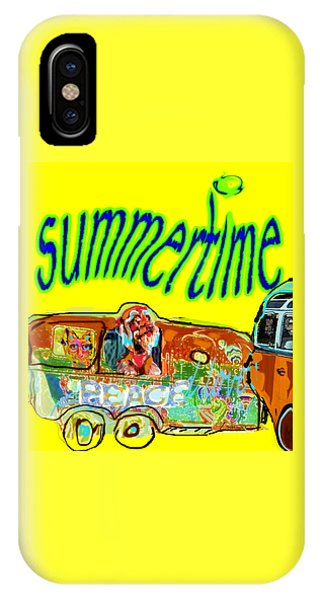 Summer Roadtrips Fun  IPhone Case