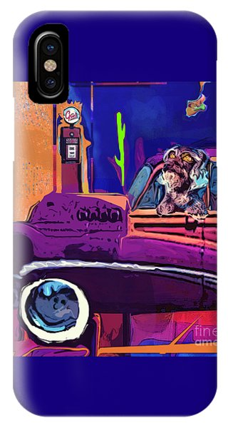Summer Roadtrips Westward Ho IPhone Case