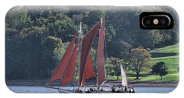 Summer Sailing In Lunenburg IPhone Case