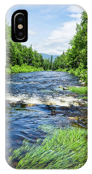 Summer Scene Rangeley Maine  -70742 IPhone Case